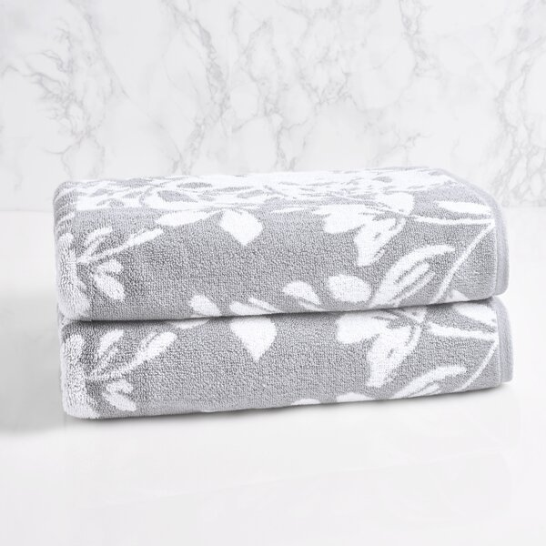 Solari 100% Cotton Bath Towel by Lark Manor